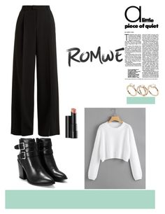 """""""romwe"""" by aidica-mujic ❤ liked on Polyvore featuring RED Valentino, Nasty Gal, Arbonne and ASOS Curve"""