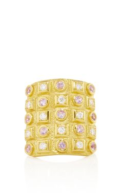 Byzantine Gold 750° Ring with Diamonds by Ilias Lalaounis (=)