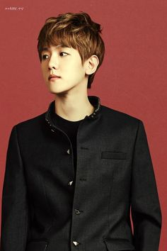 EXO's Baekhyun in IVY Club for Back To School photoshoot.