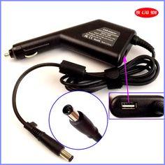 19V 4.74A 90W Laptop Car DC Adapter Charger + USB(5V 2A) for HP Pavilion DV3 DV4 DV5 DV6