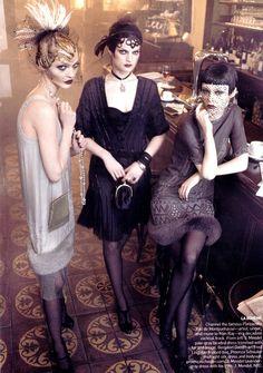 Paris in the 1920s, Vogue (Grace Coddington)