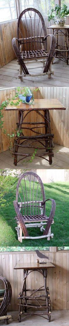 Садовая мебель и предметы декора для дачи