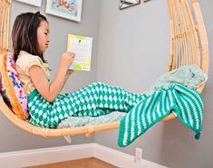 HANDMADE CROCHET MERMAID TAIL BLANKETS FOR KIDS - YAY! CROCHET shop