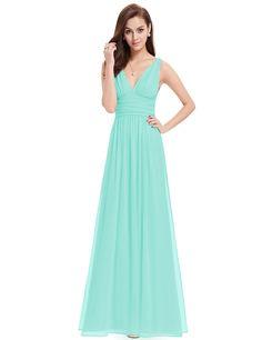 sky blue maxi dress