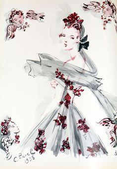 Drawing Chanel - The Fashion Illustrators from 1915 through the 1930's — Dressing Vintage Christian Berard