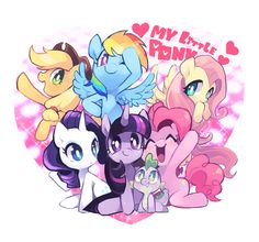 my little pony friendship is magic.... My favorite is fluttershy .