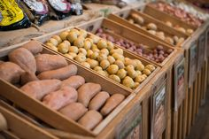 Strong preference for locally grown produce!