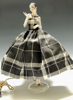 German Half Doll Lamp