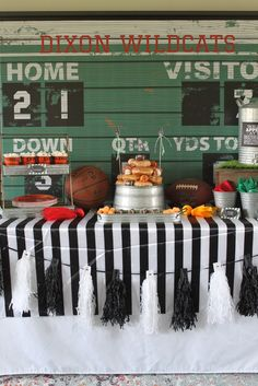 All Star Sports Theme Party