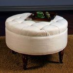 Ottoman:Splendid Square Storage Ottoman With Tray Extra Large Round Pouf Cube Tufted Coffee Table Box What Is An Cocktail Footstool Gray Red Leather White Cream Upholstered Blue Small Simple most modern tufted ottoman coffee table design Upholstered Ottoman Coffee Table, Storage Ottoman Coffee Table, Round Tufted Ottoman, White Ottoman, Tufted Storage Ottoman, Fabric Ottoman, Coffee Table Design, Coffee Tables, Ideas