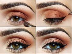 Bakır Göz Makyajı