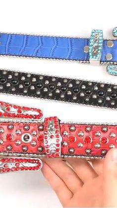 Leather Factory, Rhinestone Belt, Western Cowboy, Crystals, Bags, Handbags, Crystal, Crystals Minerals, Bag