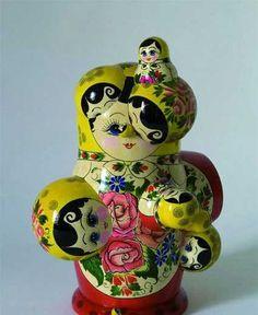 Chernobyl nesting dolls