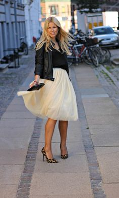 love the tulle skirt!