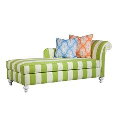 Oh my goodness, in love with this chaise!! Can turn any room into a high end Palm Beach Resort!