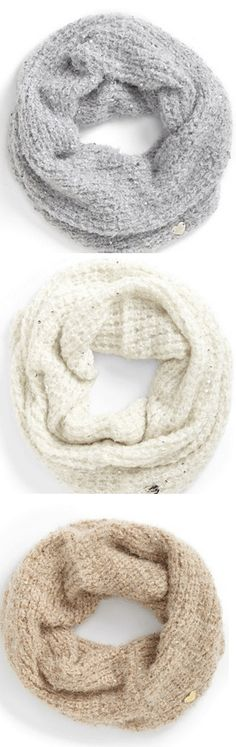 Fairy Dust Infinity Scarves - love these!