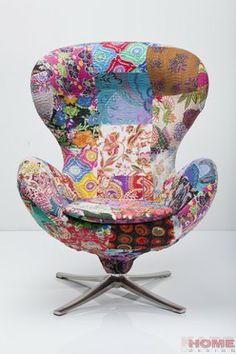 Kare Design :: Fotel obrotowy Flower Surprise Patchwork (77701) Kare Design