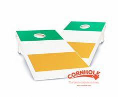 """Irish Flag"" Cornhole Boards Product Details - Cornhole.com"