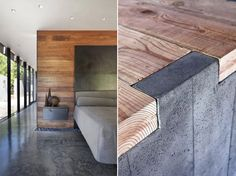 wood concrete - Google Search