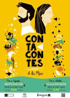 "Cartel ""Contacontes"". Benicàssim 2014."