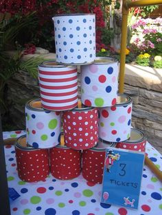 Carnival/circus party Birthday Party Ideas | Photo 2 of 6 | Catch My Party