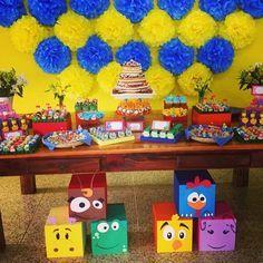 Duas Decorações LINDAS da Galinha Pintadinha | Coisas da My [ Cat: festas aniversario  ]