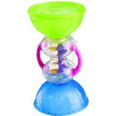 """Игрушка в ванну """"Удивительная труба"""" B-KIDS  ~350    Интересная игрушка, когда вода проливается, то спиралька вращается. Удобна тем, что верхние части снимаются и средняя помещается внутрь, """"в шар""""."""