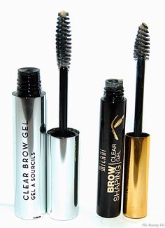 Anastasia Beverly Hill Clear Brow Gel, Milani Clear Brow Gel  #bblogger #beauty #makeup