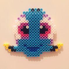 Dory perler beads by kitschyanot Perler Bead Templates, Diy Perler Beads, Perler Bead Art, Pearler Beads, Fuse Beads, Pearler Bead Patterns, Perler Patterns, Diy Arts And Crafts, Bead Crafts