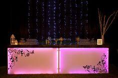 Barra de bar con iluminación led de Lámparas y Eventos | Foto 0