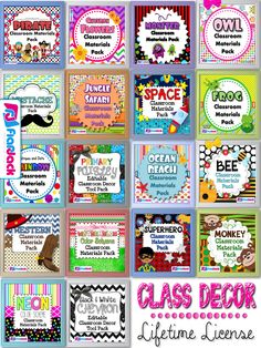 Enter to win ALL of FlapJack's class decor packs with a lifetime license! Over 18 decorating themes included!