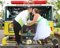 Firefighter wedding photography www.erinlynphotography.com