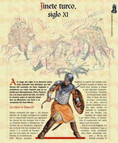Turkish cavalryman, XI c. Medieval Knight, Medieval Armor, Military Art, Military History, Military Uniforms, Renaissance Time, Islam, Armadura Medieval, Templer