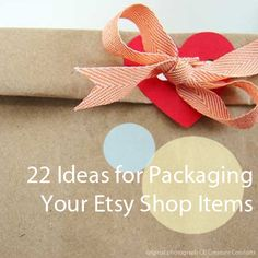 22+Etsy+Packaging+Ideas Packaging Tips and Advice for Etsy Store Owners  Getting it in a pretty package makes such a difference!