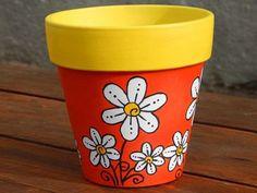 Flower Pot Art, Flower Pot Design, Clay Flower Pots, Flower Pot Crafts, Clay Pot Crafts, Clay Pot Projects, Painted Plant Pots, Painted Flower Pots, Beauty Room Decor
