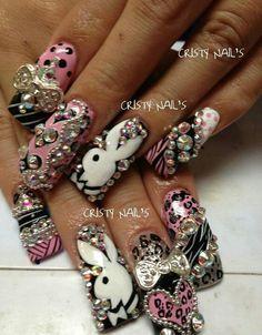 Increíbles. Preciosas, Sin Igual ¡ Divinas uñas estilo Sinaloa.