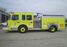Chicago, IL FD O'Hare International Airport Engine 12S 2012 Spartan Gladiator 1500/500 Pumper.