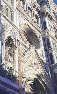 """""Ascension"" Duomo Watercolor"" by Paul Jackson 