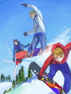 """THANK YOU for putting Austria in there! His abilities are never talked about. (""""2014 Sochi Olympics Aph edition"""")"""