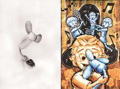 Design, Photo, Drawing Studies, Illustration, Female Sketch, Drawings, Image, Painting, Art
