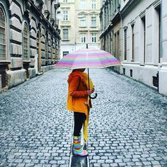 Rainy days in the City don't need to be boring.look at wellies! Tag us and be features Funky Wellies, Traveling With Baby, Baby Wearing, Best Sellers, Rain Boots, Satchel, Rainbow, Photoshoot, Rainy Days