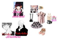 """""""Diabolik Lovers Oc #2"""" by bec1995 ❤ liked on Polyvore featuring Anna Sui, Lime Crime and Forever New"""