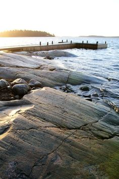 Sun over the Baltic sea in Turku Archipelago, Finland. Great tip for summer vacation in the North of Europe
