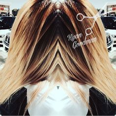 DELICIOUS! #btcapproved #toniguy #toniguyportico #toniguyusa #gaystylist #colormelt #color @colour #gorgeous #beautiful #iloveit #love #yum #delicious