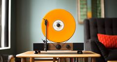 Vinyl goes vertical with the Floating Record | Classic Driver Magazine
