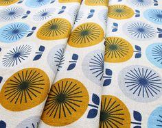 Cloud9 Fabrics Time Warp 127402 Sunburst Blue