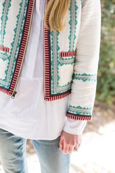 this embroidered jacket.