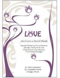 Image result for purple wedding invitation templates