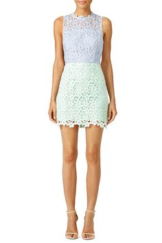 This Cynthia Rowley mini dress is cool and colorful. Wear it with wedges for a carefree yet put-together feel.