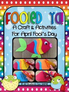 April Fool's Fish Craftivity - Fooled Ya!
